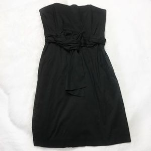 Banana Republic Strapless Tie-Front Dress